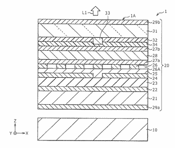 Display device, electronic apparatus, and method of manufacturing display device