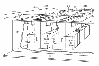 Data center air handling unit including uninterruptable cooling fan with weighted rotor and method of ...