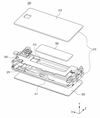 Electronic device including battery module and method for maufacturing the same