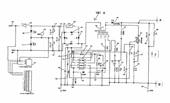 Electronic driver with zeta scan component