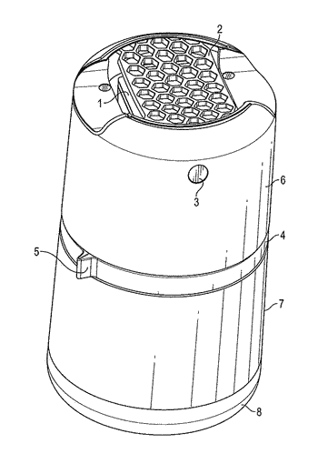 Multi-fuel-canister insect repellent system