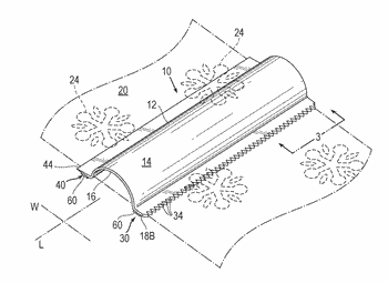 Tool for wrapping paper manufactured by 3d printing