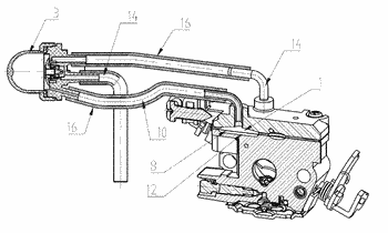 Fuel enrichment simple starting device and method of carburetor