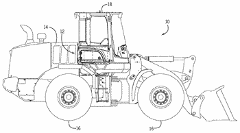 Heating, ventilation, and air conditioning system of a work vehicle