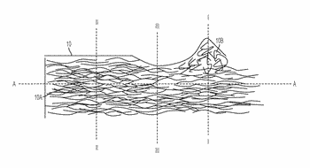 Fibers with modified cross sectional profile