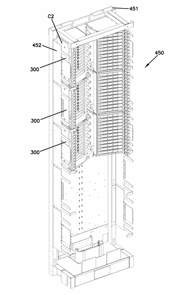 Moveable bend control and patch cord support for telecommunications panel