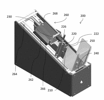 System for simulating ash removal from a smoking article and a related method