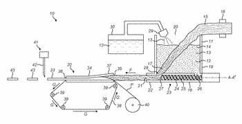 Flavouring component, and apparatus and method for manufacturing a flavouring component
