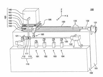 Hardening apparatus for a long member, and a hardening method for a long member