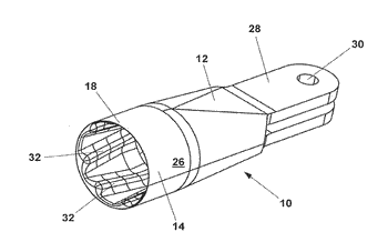 Component for absorbing and/or transmitting mechanical forces and/or moments, method for producing same ...