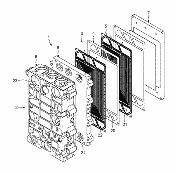 Process for treating a bipolar plate for a fuel cell