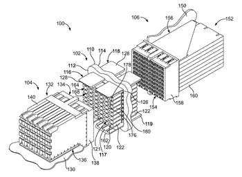 Header contact for header connector of a communication system