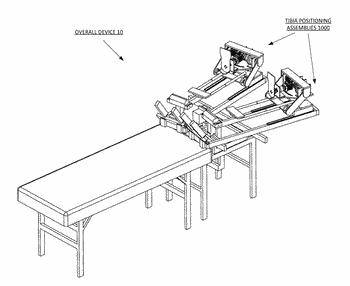 Robotic knee testing (rkt) device having decoupled drive capability and systems and methods providing the ...