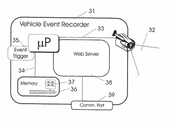 Vehicle event recorders with integrated web server