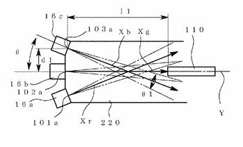 Multiplexer, image projection apparatus using the multiplexer and image projection system