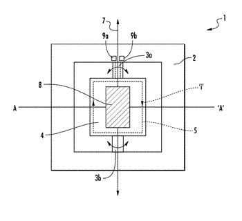 Method for controlling the position of a mems mirror