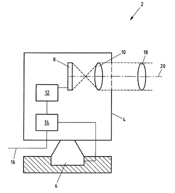 Surveillance camera, system having a surveillance camera and method for operating a surveillance camera