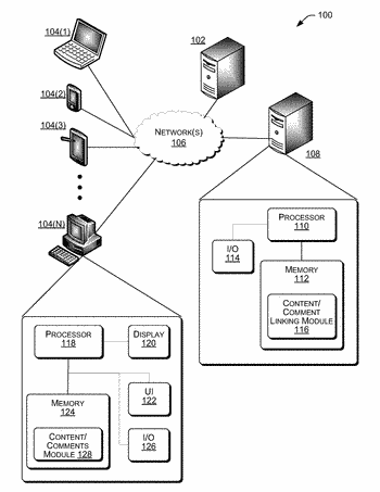 Systems and methods for providing a comment-centered news reader