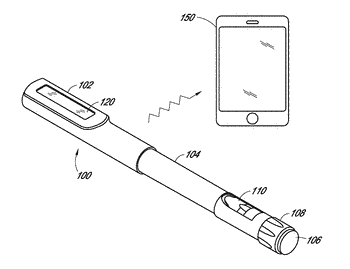 Event capture device for medication delivery instruments