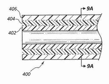 Thermoplastic strike layer for bonding materials