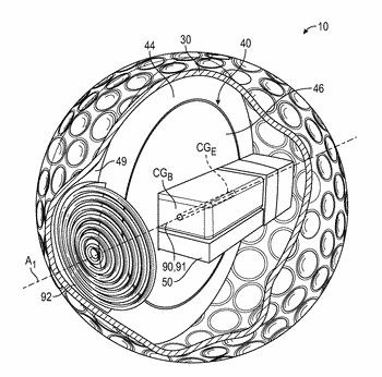 Sports ball with sensors and transmitter