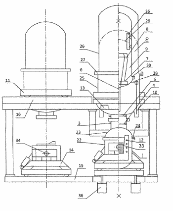 Method for producing semi-finished metallurgical products  and shaped castings, and device for carrying out said ...