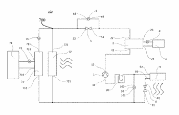 Air conditioning system for vehicle and vehicle having same