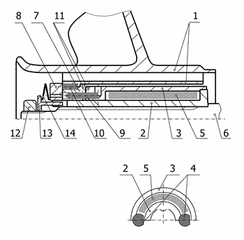 Screw propeller with safety coupling