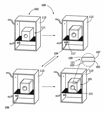Fluoro-containing thermal chemical vapor deposition process and article