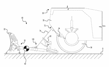 Implement mounting assembly and method for managing a cable used for mounting the same to ...