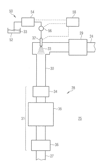 Injector deposit detection for scr injection system