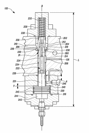 Fuel supply system and valve assembly therefor