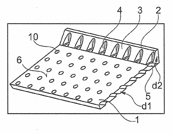 Plate-shaped structural component of a gas turbine