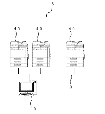 Electronic apparatus setting device and non-transitory recording medium storing a computer readable program