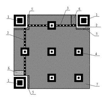 Decoding method and system for qr code with one damaged position detection pattern