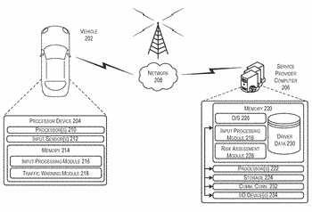 Onboard vehicle notification system