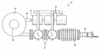 Device and method for producing medical isotopes