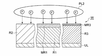Method of selectively etching first region made of silicon nitride against second region made of ...