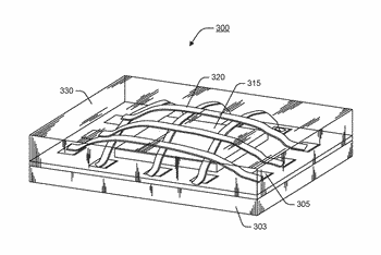 Semiconductor package with electromagnetic interference shielding structures