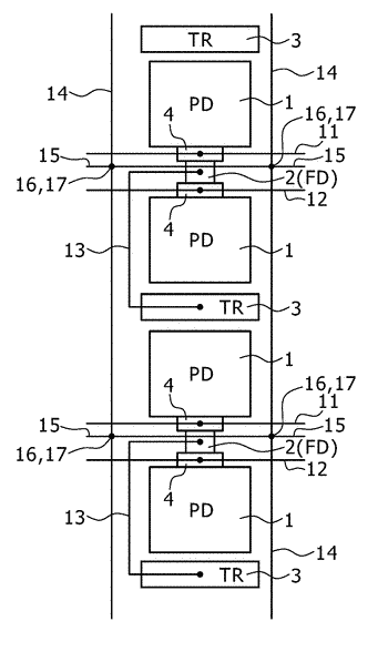 Solid-state imaging apparatus and electronic device