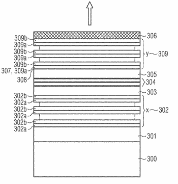 Light-emitting semiconductor device, light-emitting semiconductor component and method for producing a light-emitting semiconductor device