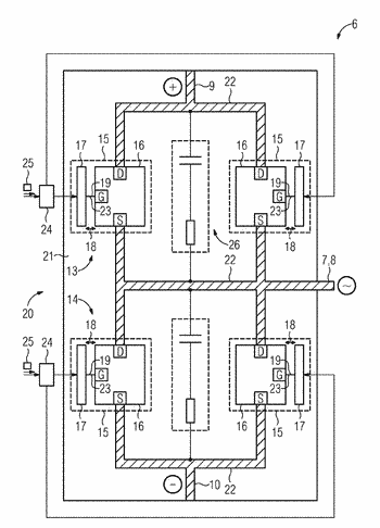 Fast-switching circuit assembly for a converter