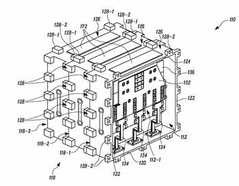 Inverter assembly for electric power system