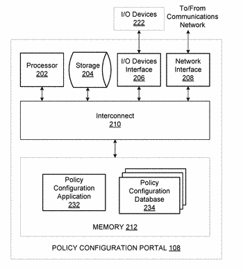 Real-time association of a policy-based firewall with a dynamic dns hostname