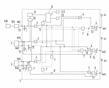 Method and apparatus for transmitting signals with transmitting activity detection