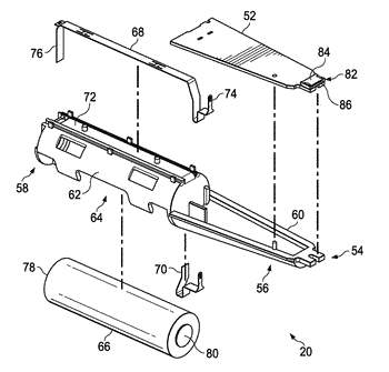 Electronic subassembly for a personal care product
