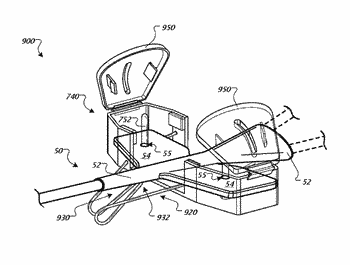 System for anchoring medical devices